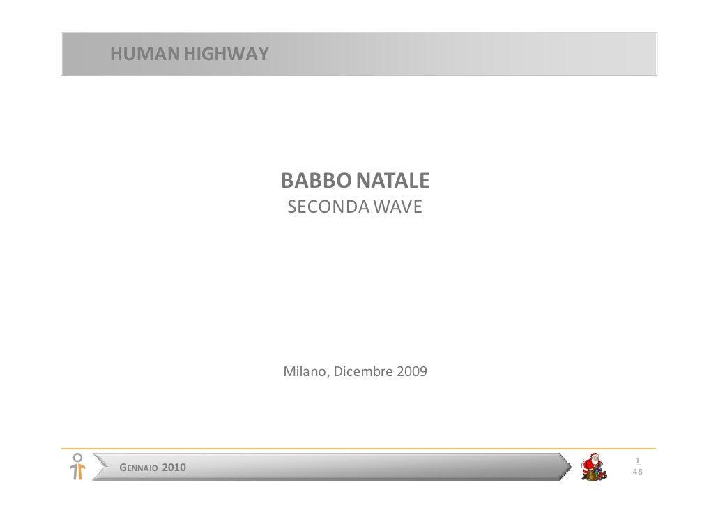 Ricerca Per Babbo Natale - 2009