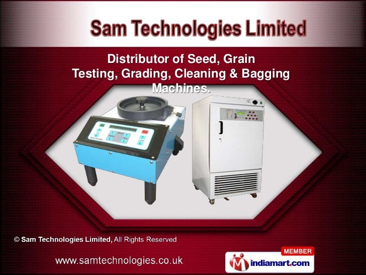 Rice Sheller by Sam Technologies Limited Borehamwood