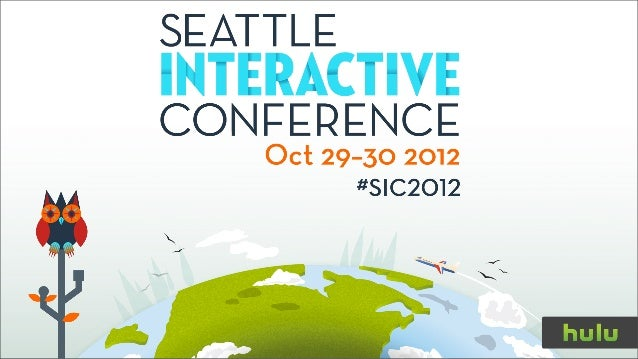 Richard Tom - Innovating the Future of TV - SIC2012