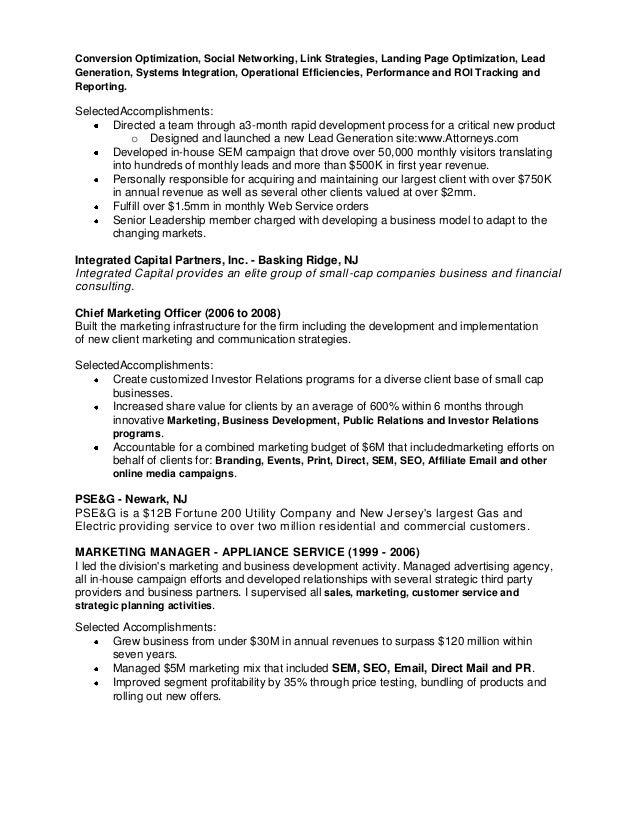 richard brenner resume 2013