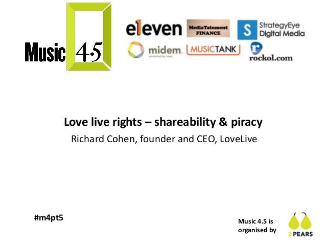 Music 4.5: Music & Sport - Richard Cohen, LoveLive