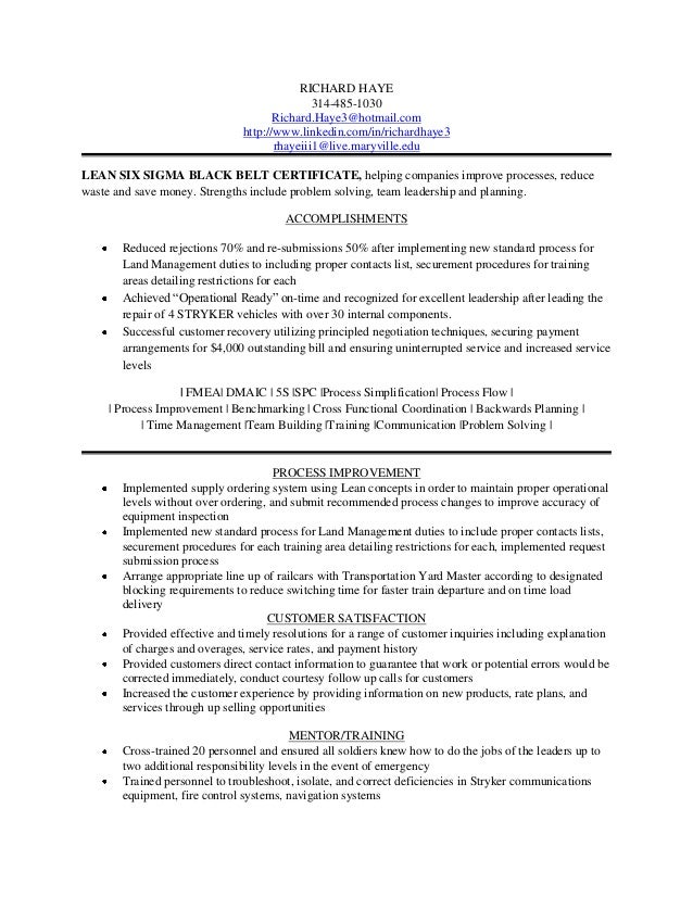 Richard Haye Resume 1 23 13