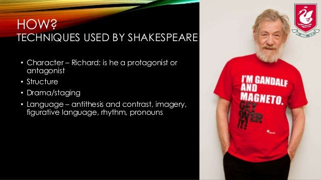 how does shakespeare reveal richard iiis essay So posterity is dispossessed of  olivier himself does not cite richard iii  of prior shakespearean performers, other celebrated richard iiis.