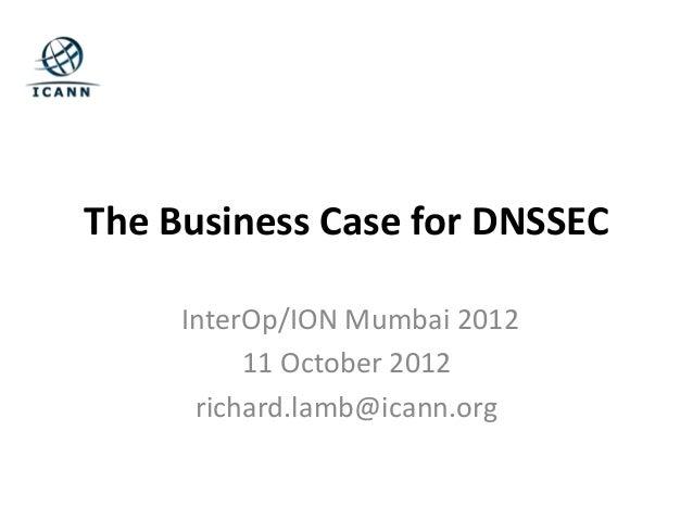 ION Mumbai - Richard Lamb: Why DNSSEC?