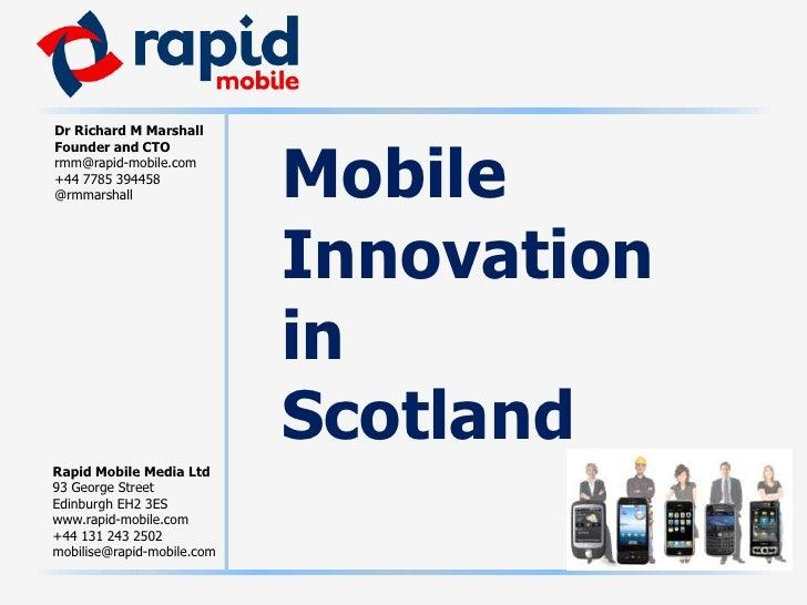 MobileInnovationinScotland<br />