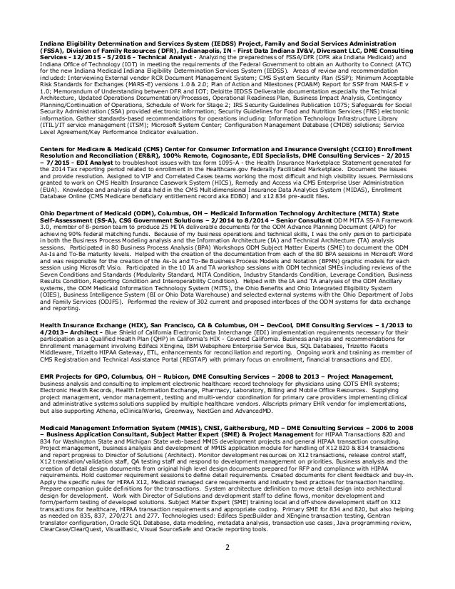 richard resume 2014