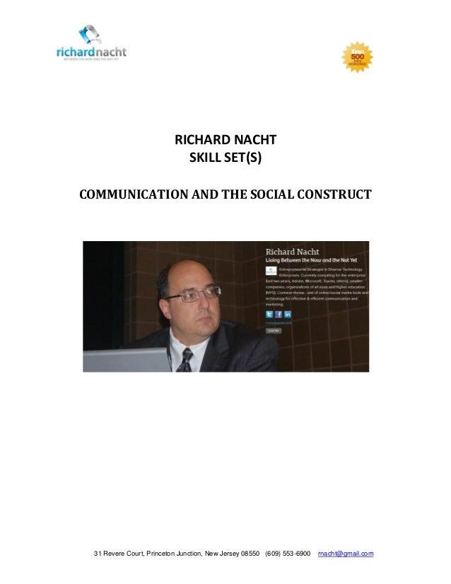 Richard Nacht Subject Matter Expert - 2013