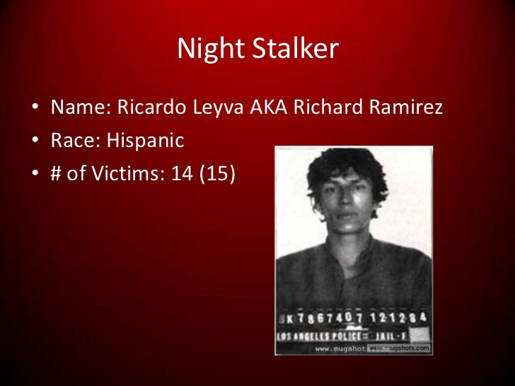 richard ramirez essay An analysis of the beliefs of richard ramirez, a serial murderer pages 2 sign up to view the rest of the essay personal beliefs, richard ramirez, serial murder.