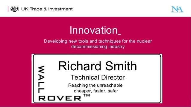 Richard Smith. Wall Rover Ltd.  29th January