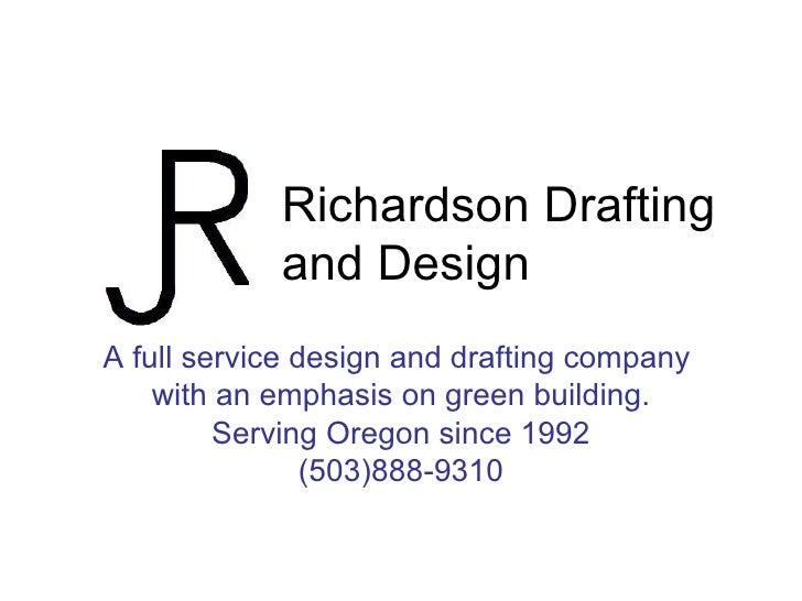 Richardson Drafting And Design Portfolio