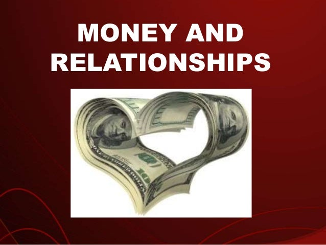 Money And Relationships | Richard Tan Success Resources