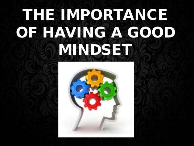 The Importance Of Having A Good Mindset | Richard Tan Success Resources