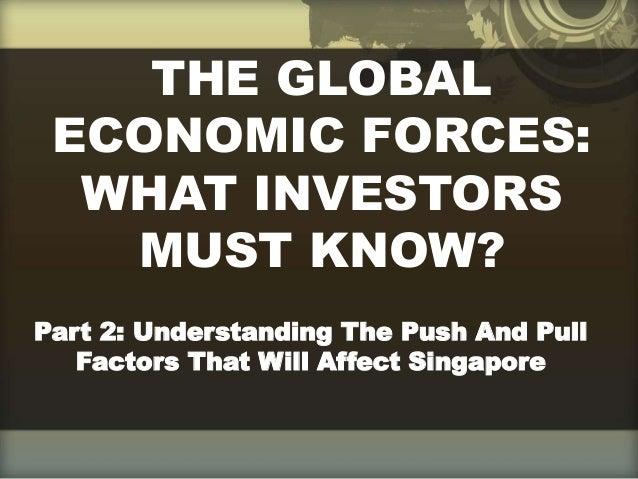 The Global Economic Forces (Part 2)| Richard Tan Success Resources