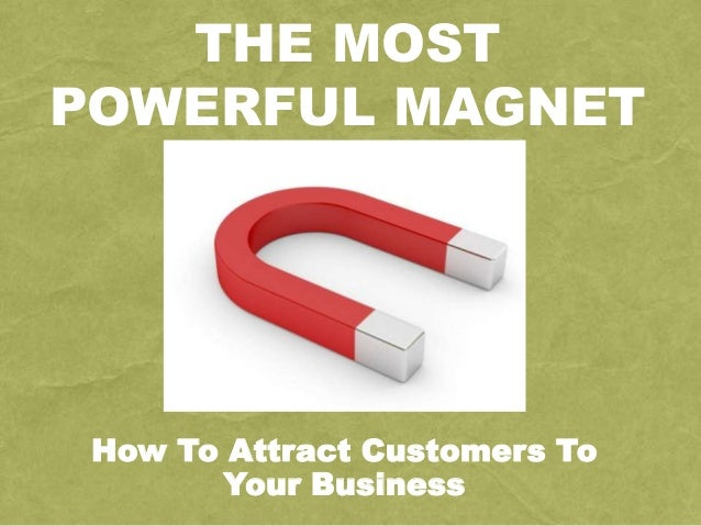 The Most Powerful Magnet | Richard Tan Success Resources