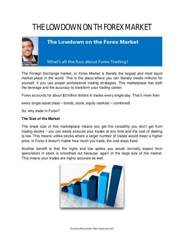 The Lowdown On The Forex | Richard Tan Success Resources Scam