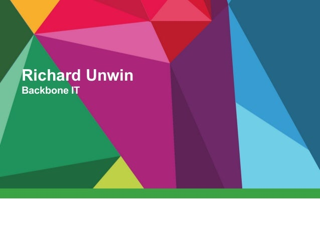 Richard Unwin Backbone IT