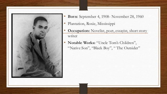 a research on the life of richard wright the author of black boy Richard wright: richard wright, novelist and short-story writer who was  his  black boy is a moving account of his childhood and young manhood in the south.