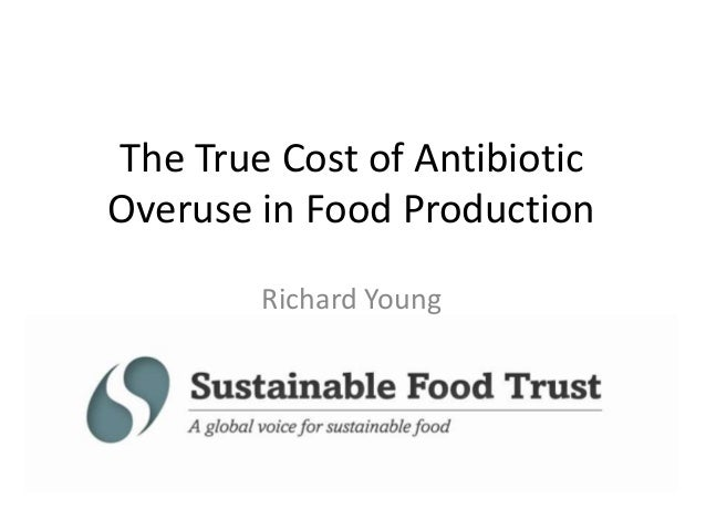 The True Cost of Antibiotic Overuse in Food Production Richard Young