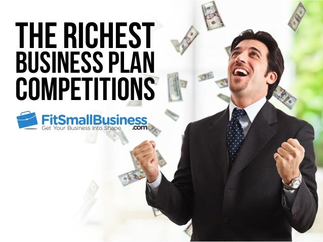 The Richest Business Plan Competitions