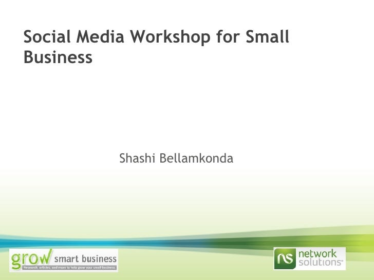 Richmond Small Business Workshop By Network Solutions
