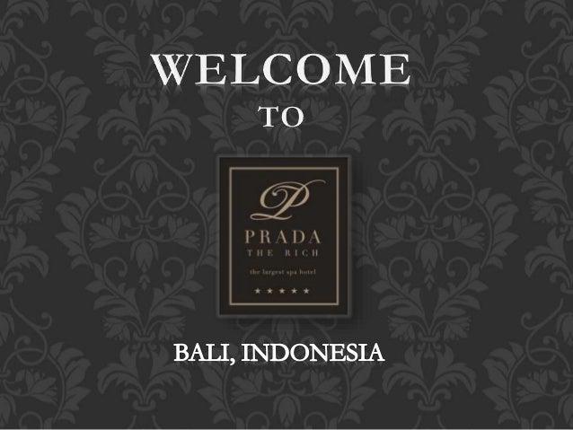 WELCOME TO  «tuba  BALI,  INDONESIA