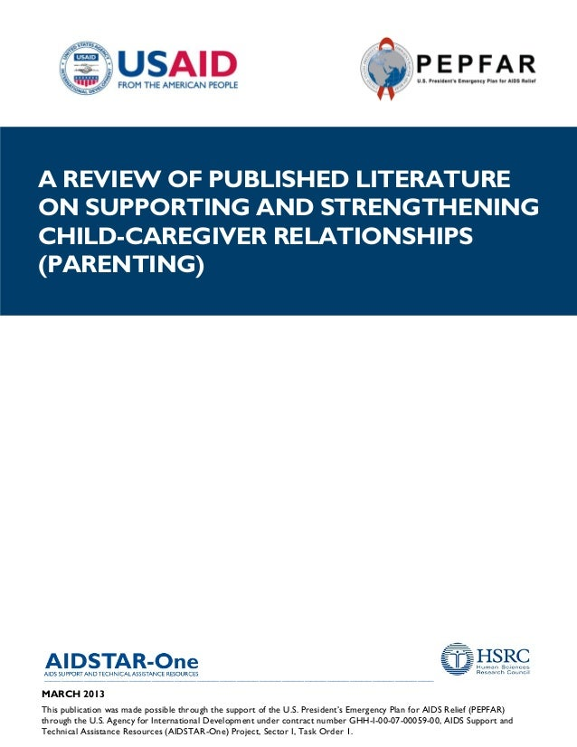 Richter  naicker 2013 strengthening parenting aid star one