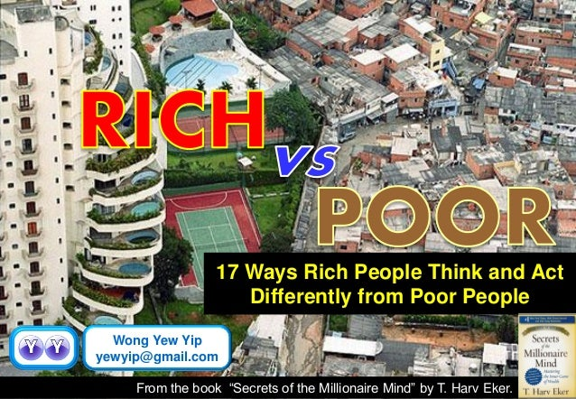 the rich vs the poor essay Below is an essay on rich vs poor from anti essays, your source for research papers, essays, and term paper examples anissa hunter october 15, 2013 eng101: 5:30 cause and effect essay.
