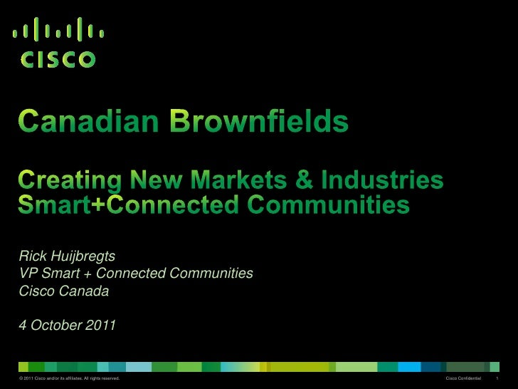 Rick @ Canadian Brownfield 2011