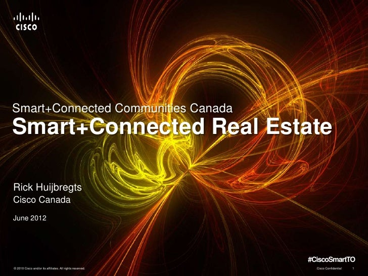 Smart + Connected Real Estate @CiscoSmartTO