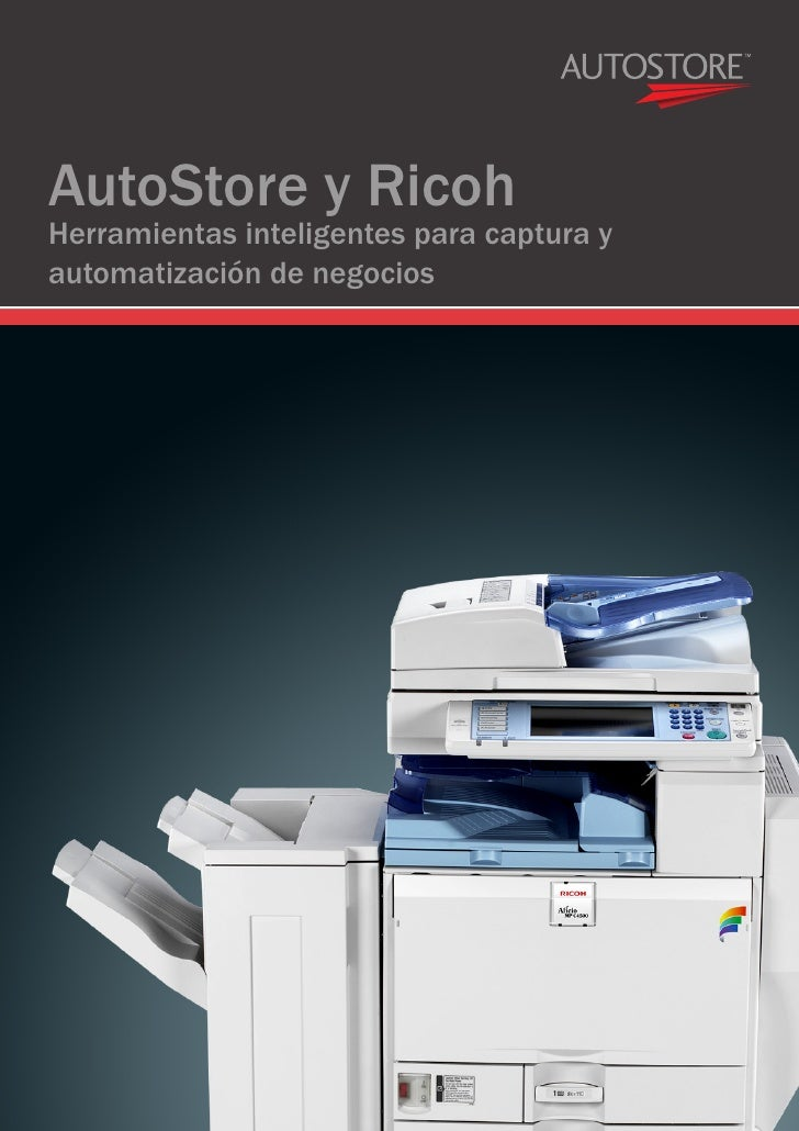 Ricoh and Autostore