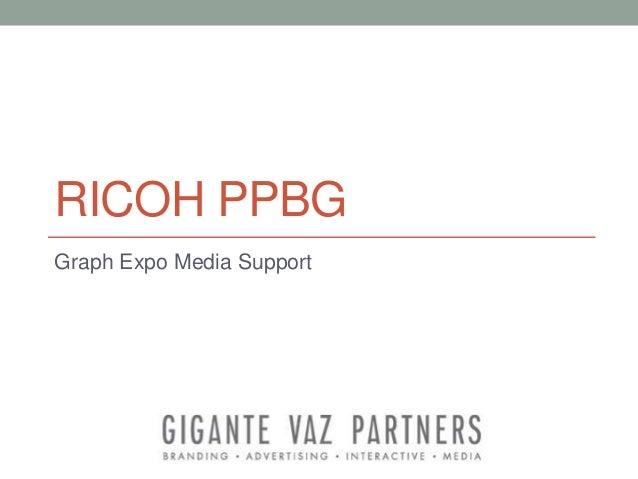Ricoh graph expo presentation