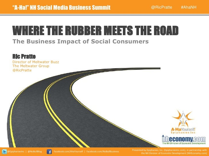 """A-Ha!"" NH Social Media Business Summit                                                              @RicPratte           ..."