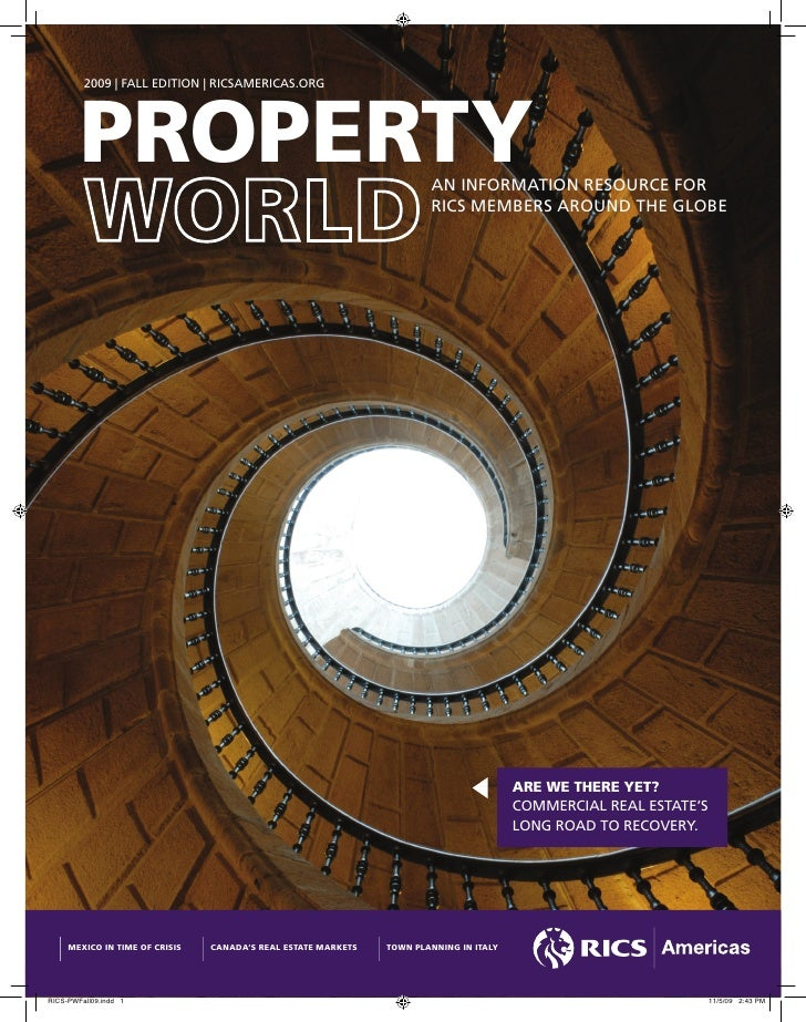 RICS Americas Property World Fall 2009