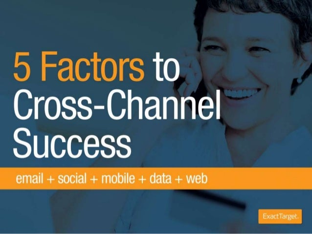 5 Factors to Cross-Channel Success in Retail