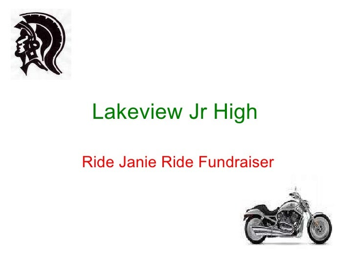 Lakeview Jr High   Ride Janie Ride Fundraiser