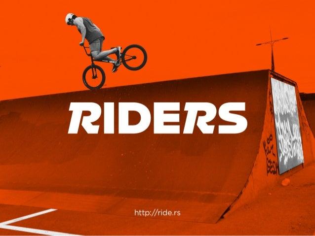 Riders app