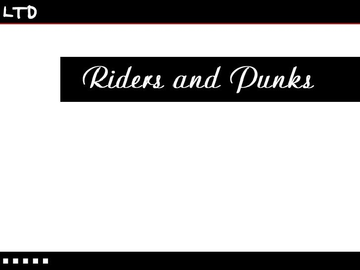 Riders and Punks Extreme Sports Tour by Limited Bookings