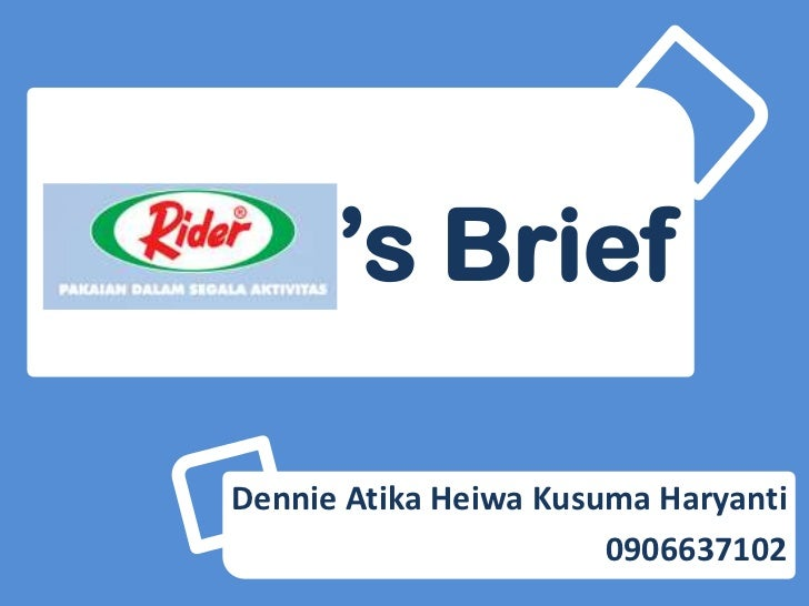 Rider's brief