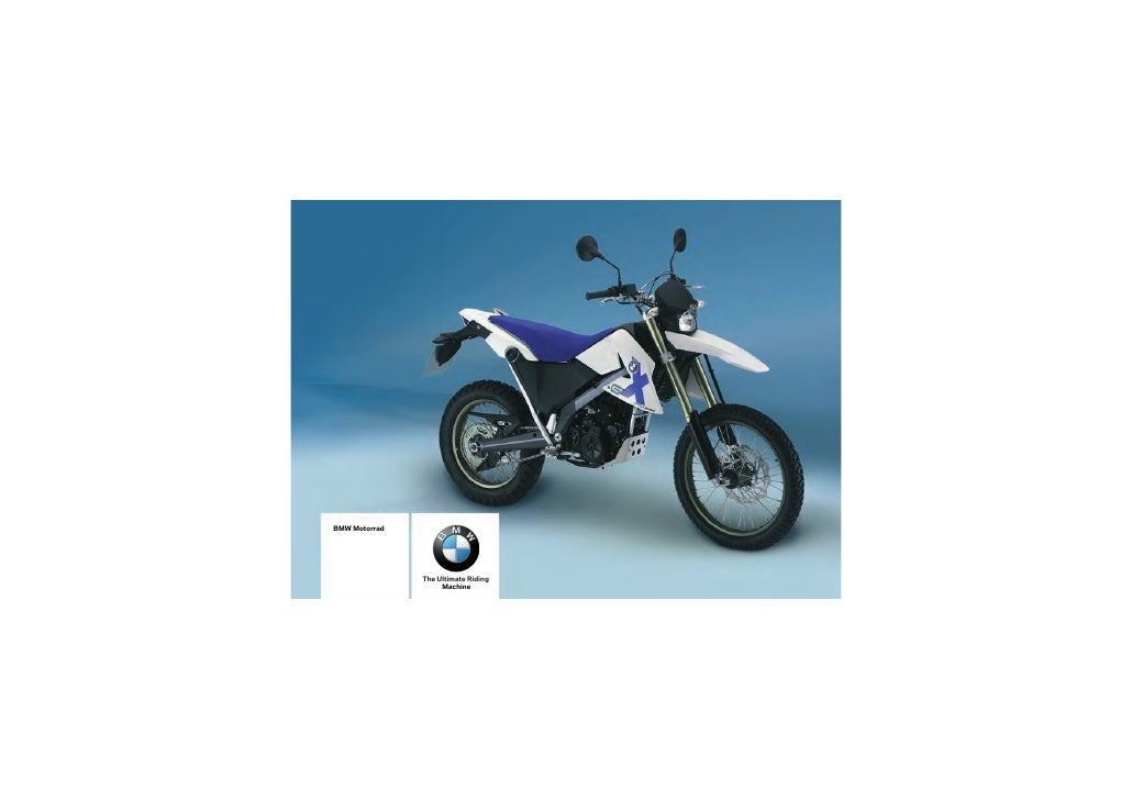 BMW Motorrad                    The Ultimate Riding                     Machine