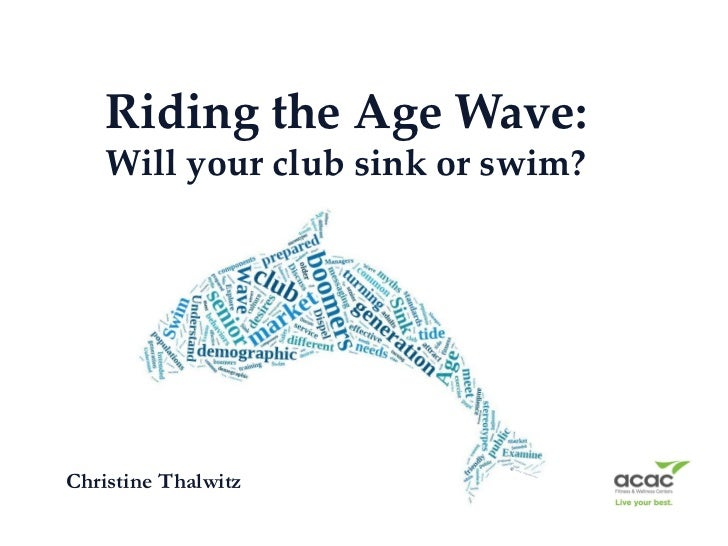 Riding the Age Wave:    Will your club sink or swim?Christine Thalwitz