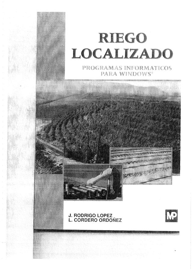 Riego localizado_ MANUAL DE SOFTWARE RIEGOLOC