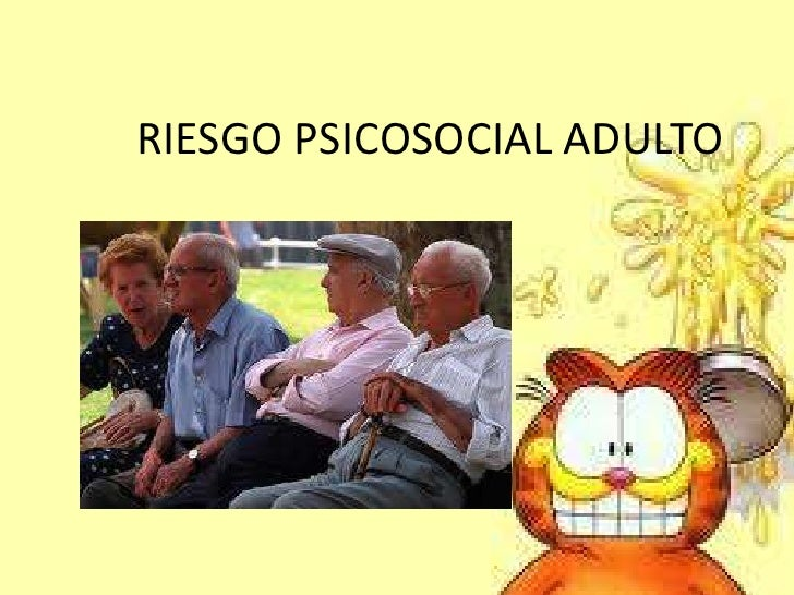 RIESGO PSICOSOCIAL ADULTO
