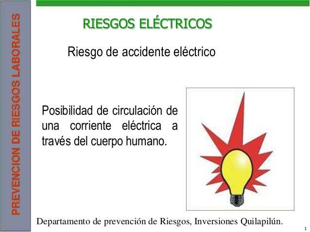 PREVENCIONDERIESGOSLABORALES 1 Autor: Zucuñuñu Descarga ofrecida por: www.prevention-world.com RIESGOS ELÉCTRICOS Posibili...
