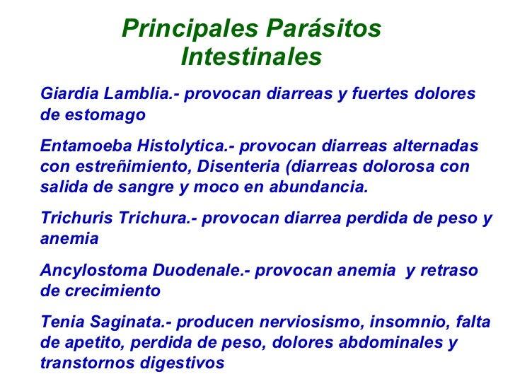 El cambio de la análisis de sangre a los parásitos