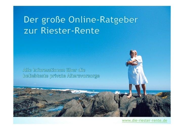 www.die-riester-rente.de