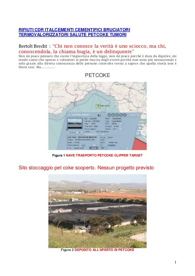 RIFIUTI CDR ITALCEMENTI CEMENTIFICI BRUCIATORI