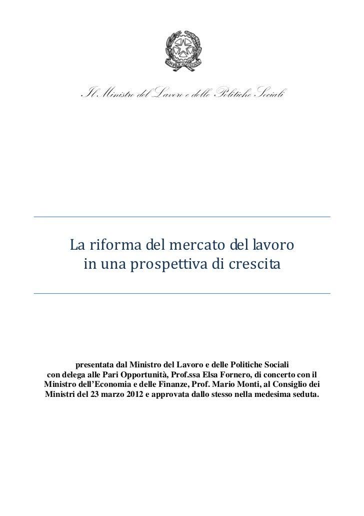 Riforma mercato lavoro_230312