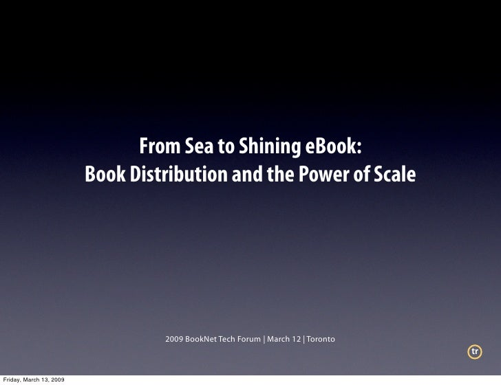 From Sea to Shining eBook:                          Book Distribution and the Power of Scale                              ...