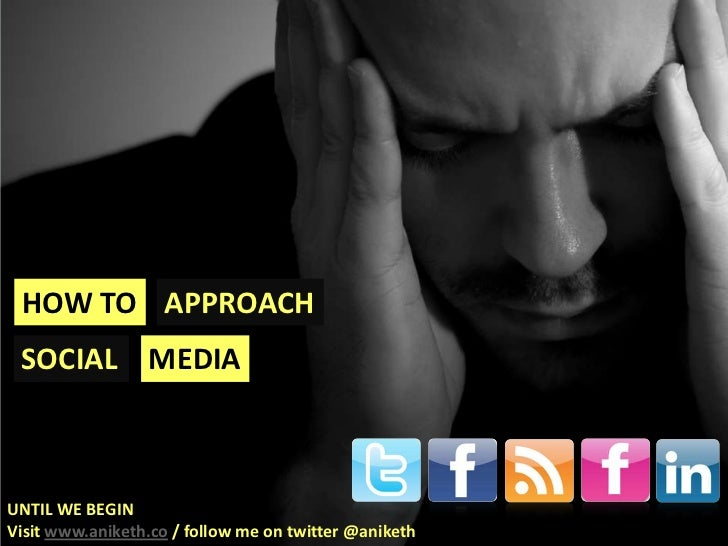 How to approach Social Media Final