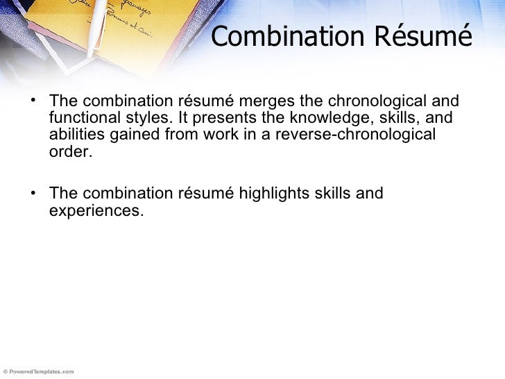 Righting a resume